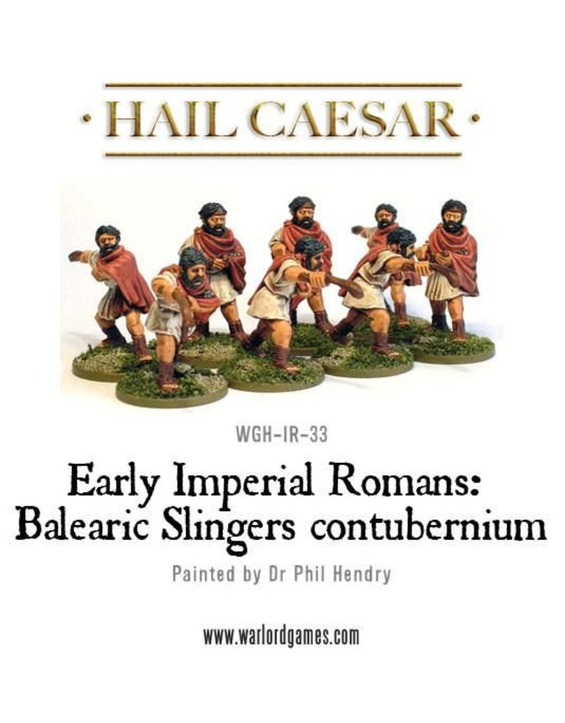 Warlord Games Early Imperial Roman Balearic Slingers Contubernium Pack