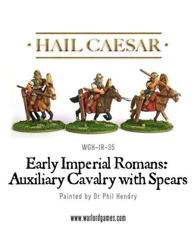 Warlord Games Early Imperial Roman Auxiliary Cavalry With Spears Pack