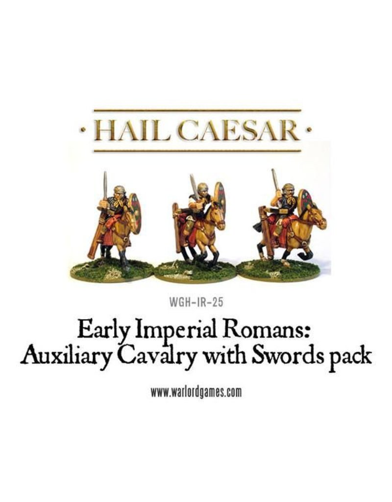 Warlord Games Early Imperial Roman Auxiliary Cavalry With Swords Pack