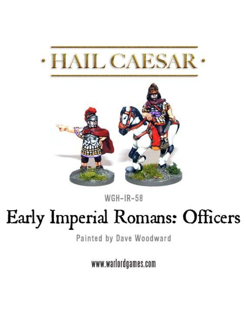 Warlord Games Early Imperial Roman Officers Pack