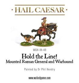 Warlord Games Hold The Line! Mounted Roman General w/ hound