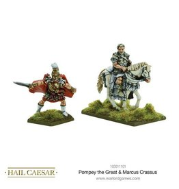 Warlord Games Pompey The Great & Marcus Crass