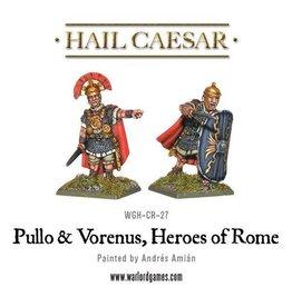 Warlord Games Caesarian - Pullo & Veren, Heroes Of Rome