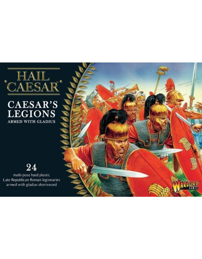 Warlord Games Caesarian Roman Caesar's Legions With Gladius Box Set