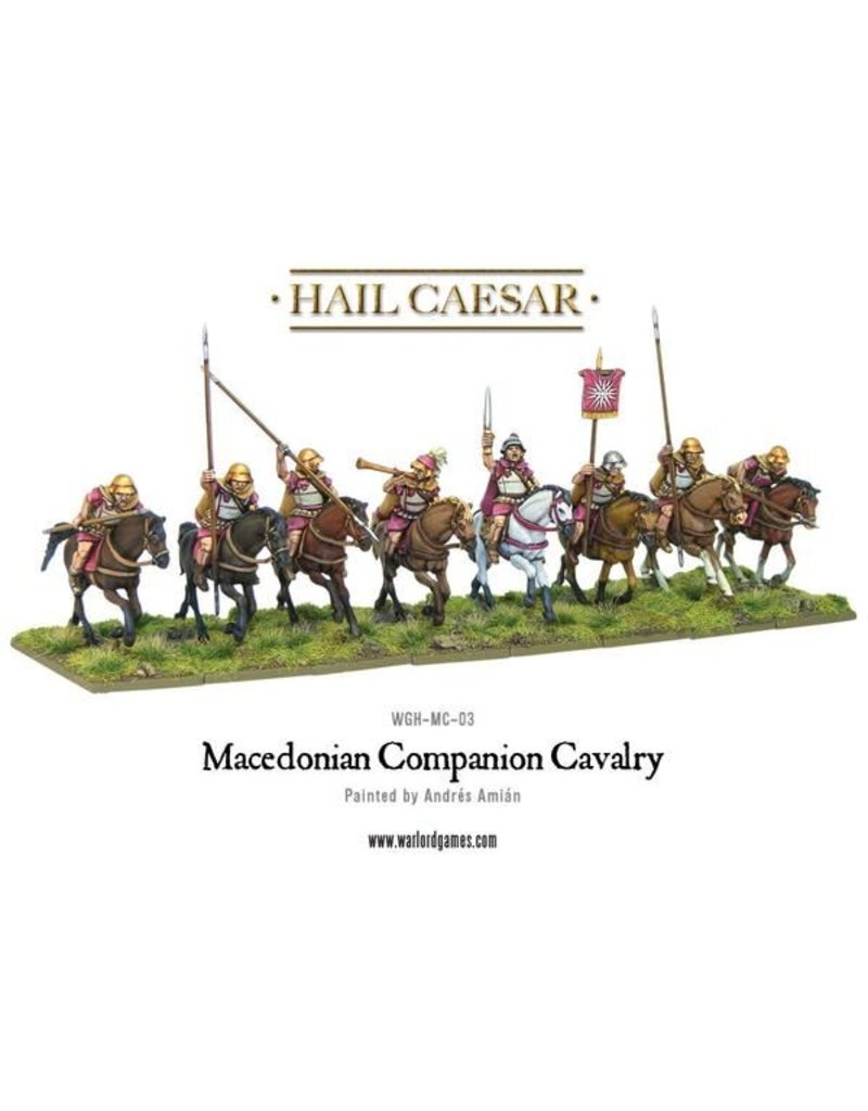 Warlord Games Aegean States Macedonian Companion Cavalry Box Set