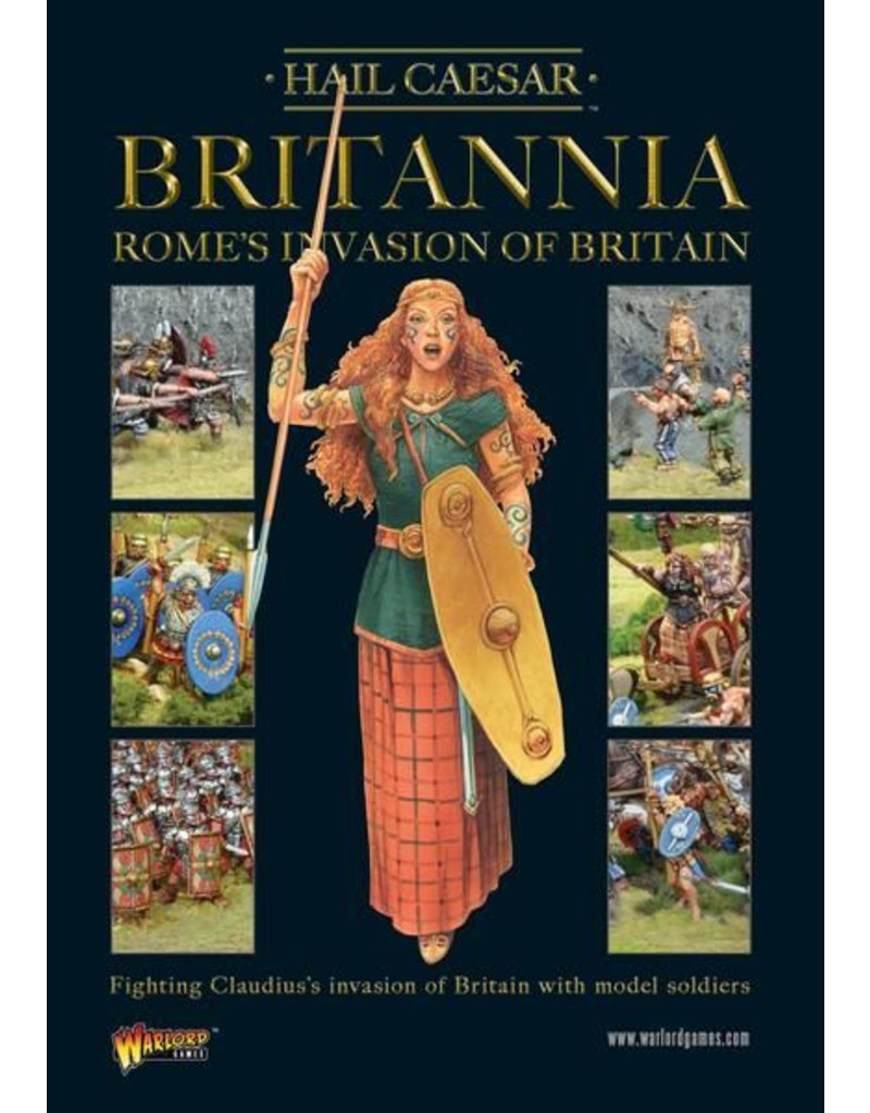 Warlord Games Britannia - Rome's Invasion Of Britain Supplement Book