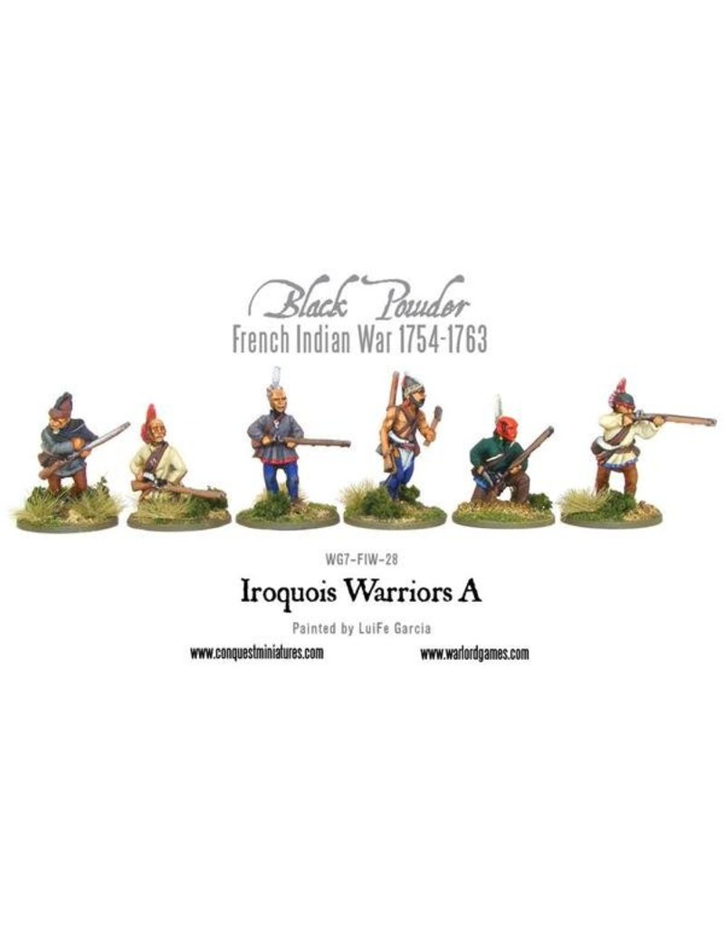 Warlord Games French Indian War 1754-1763 Iroquois Warriors Pack