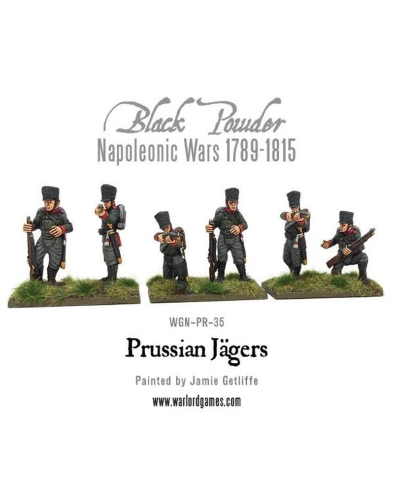 Warlord Games Napoleonic Wars 1789-1815 Prussian Jagers Pack
