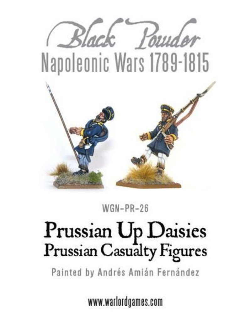 Warlord Games Napoleonic Wars 1789-1815 Prussian Up Daisies Landwehr Casualties Pack