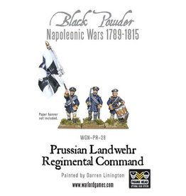 Warlord Games Prussian Landwehr Regimental Command