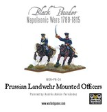 Warlord Games Napoleonic Wars 1789-1815 Prussian Mounted Officers Pack