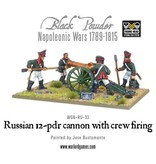 Warlord Games Napoleonic Wars 1789-1815 Russian 12 Pounder Cannon Firing (1809-1815) Pack