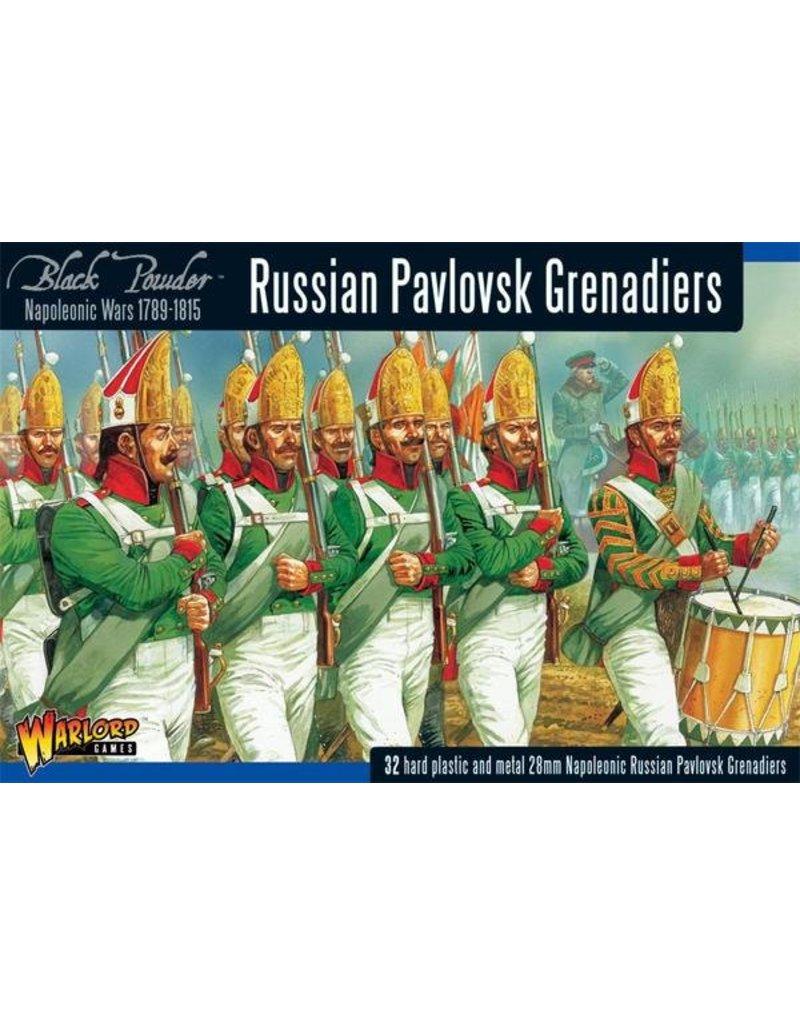 Warlord Games Napoleonic Wars 1789-1815 Russian Pavlovsk Grenadiers Box Set