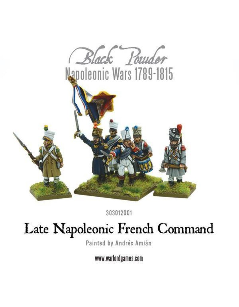 Warlord Games Napoleonic Wars 1789-1815 Napoleonic Late French Command Pack