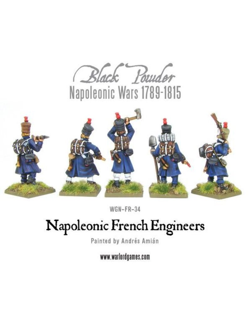 Warlord Games Napoleonic Wars 1789-1815 French Engineers Pack