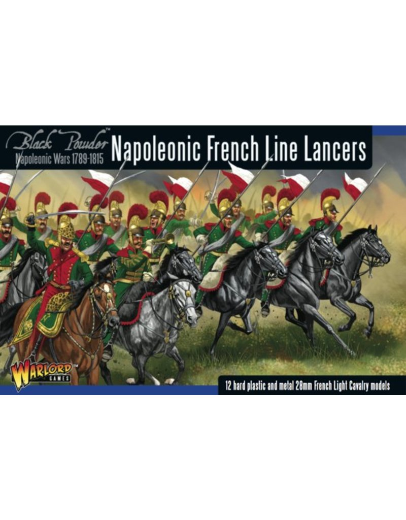 Warlord Games Napoleonic Wars 1789-1815 French Line Lancers Box Set