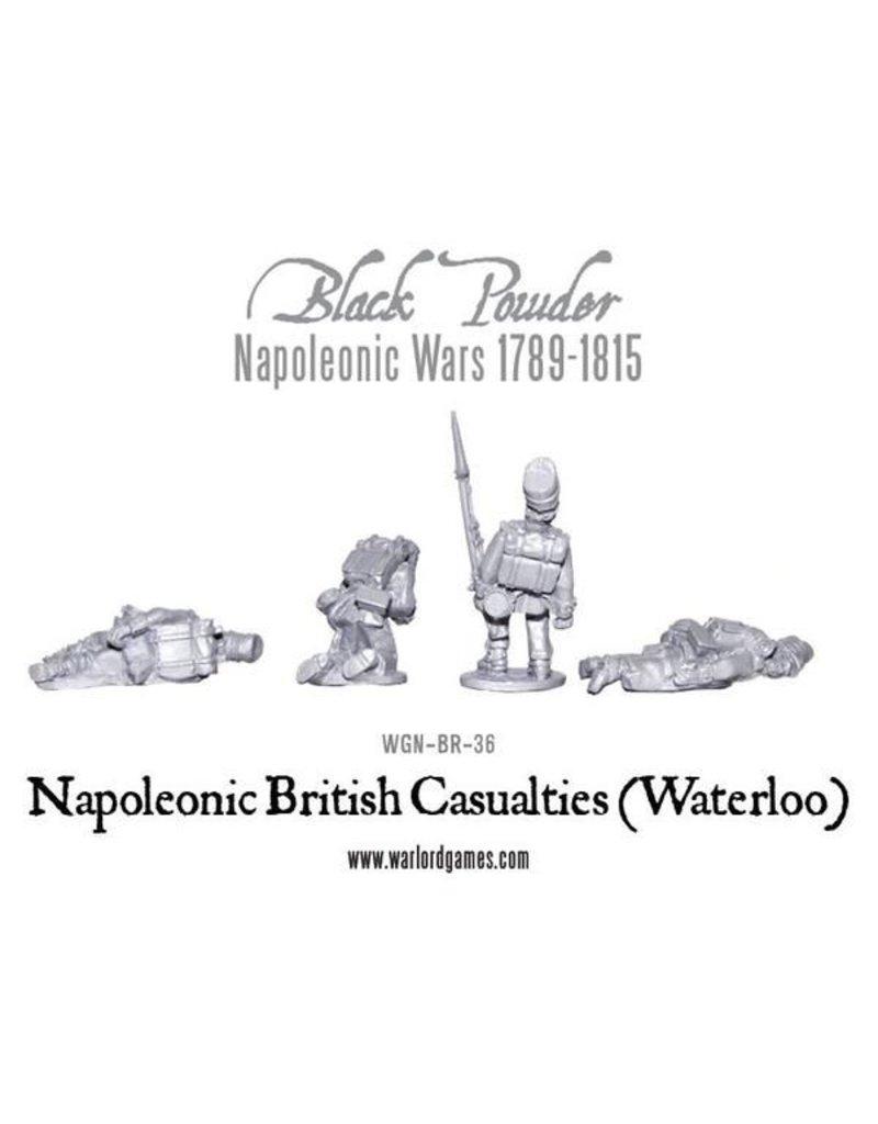 Warlord Games Napoleonic Wars 1789-1815 British Casualties (Waterloo) Pack