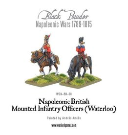 Warlord Games Mounted  Infantry Colonels (Waterloo)