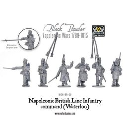 Warlord Games British Line Infantry Command (Waterloo)