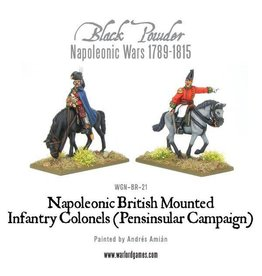 Warlord Games Mounted  Infantry Colonels (Peninsular)