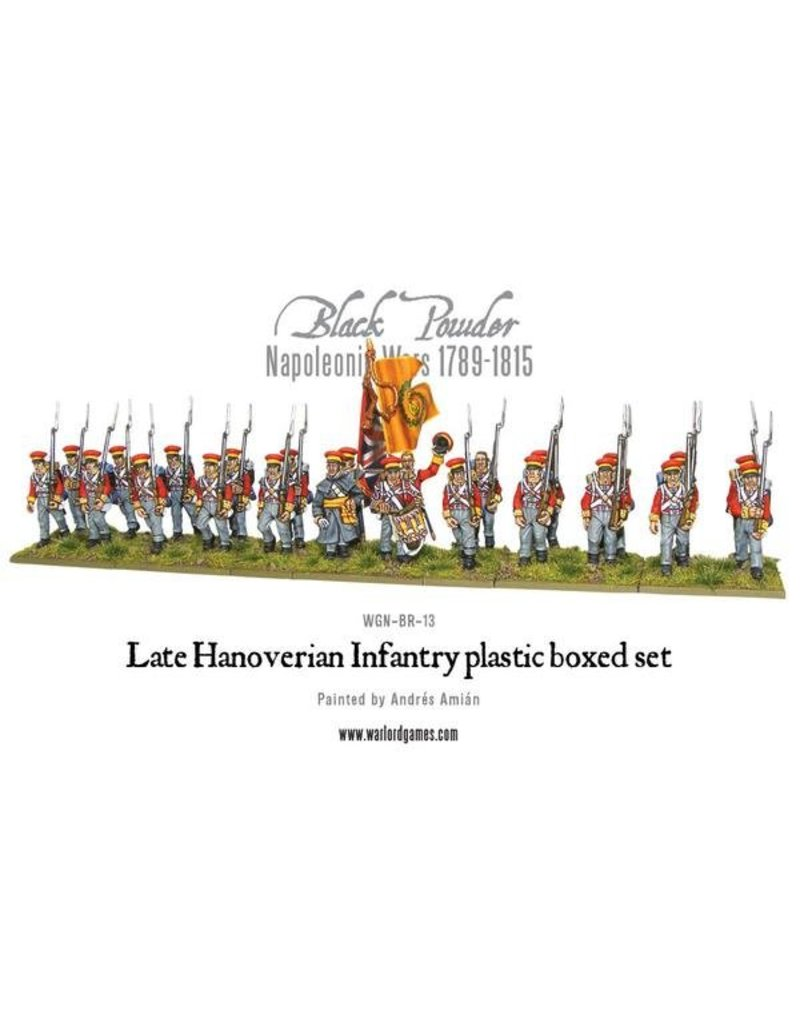 Warlord Games Napoleonic Wars 1789-1815 Hanoverian Infantry Box Set