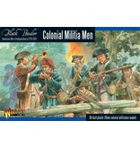 Warlord Games Colonial Militia Men (American War Of Independence) Box Set