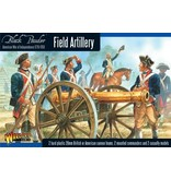 Warlord Games Field Artillery And Army Commanders (American War Of Independence) Box Set