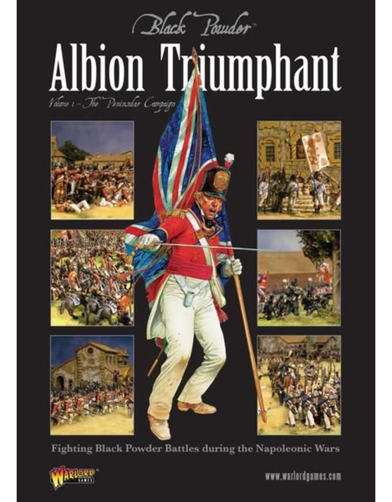 Warlord Games Albion Triumphant Pt1: The Peninsular Campaign Supplement Book