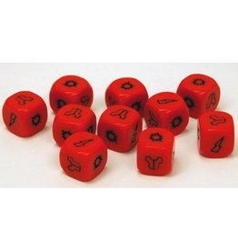 Warlord Games PROJECT Z - Zombie Red Dice Pack