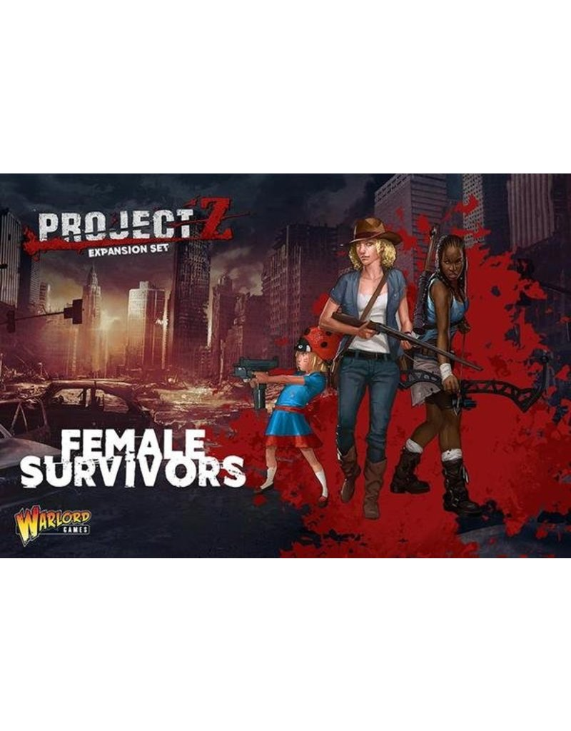 Warlord Games Female Survivors Box Set