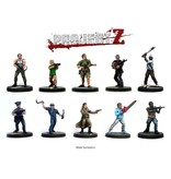 Warlord Games Project Z - The Zombie Miniatures Core Game Box Set