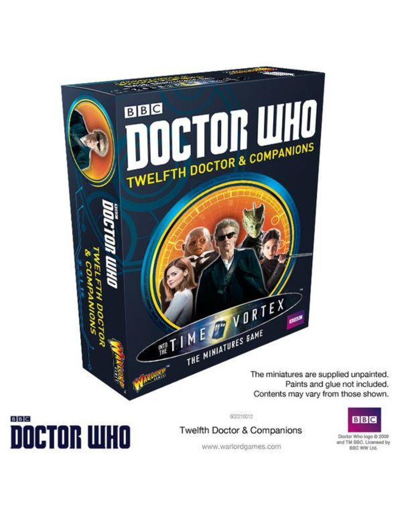 Warlord Games Doctor Who: 12th Doctor and Companions
