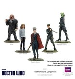 Warlord Games 12th Doctor and Companions