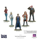 Warlord Games 10th Doctor and Companions