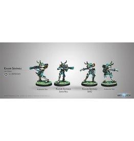 Corvus Belli Kaauri Sentinels (Submachine gun/ Sniper)