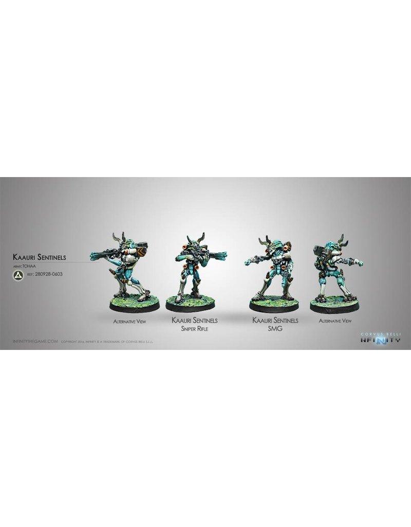 Corvus Belli Tohaa Kaauri Sentinels  (Submachine gun/ Sniper)  Blister Pack