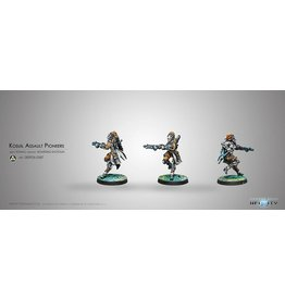 Corvus Belli Kosuil Assault Pioneers (K1 Combi Rifle)