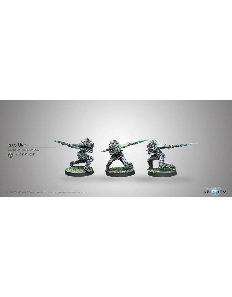 Corvus Belli Tohaa Igao Unit (DA CCW) Blister Pack