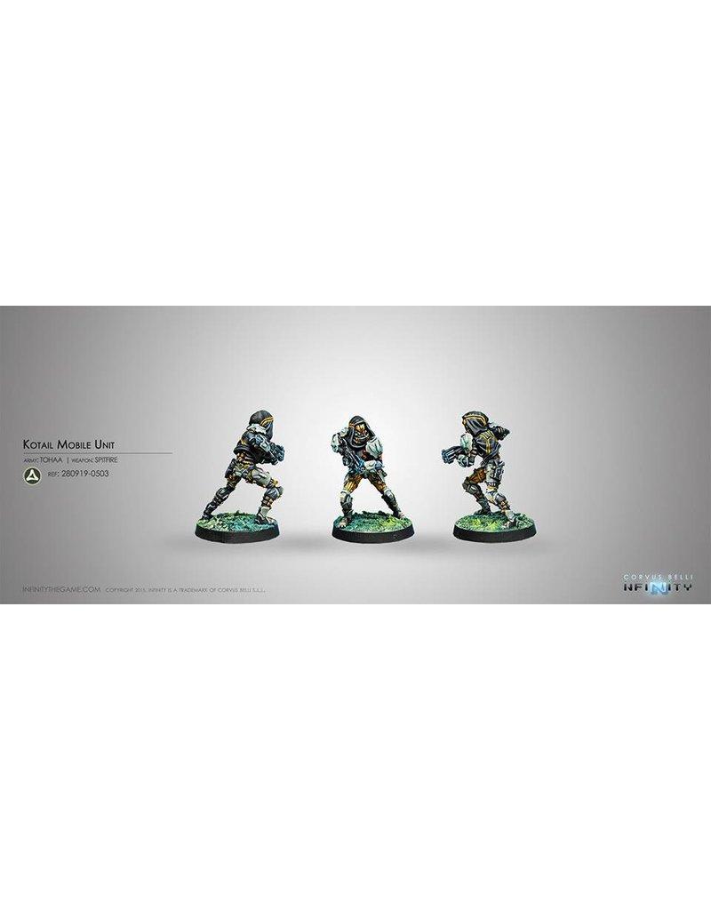Corvus Belli Tohaa Kotail Mobile Unit (Spitfire) Blister Pack