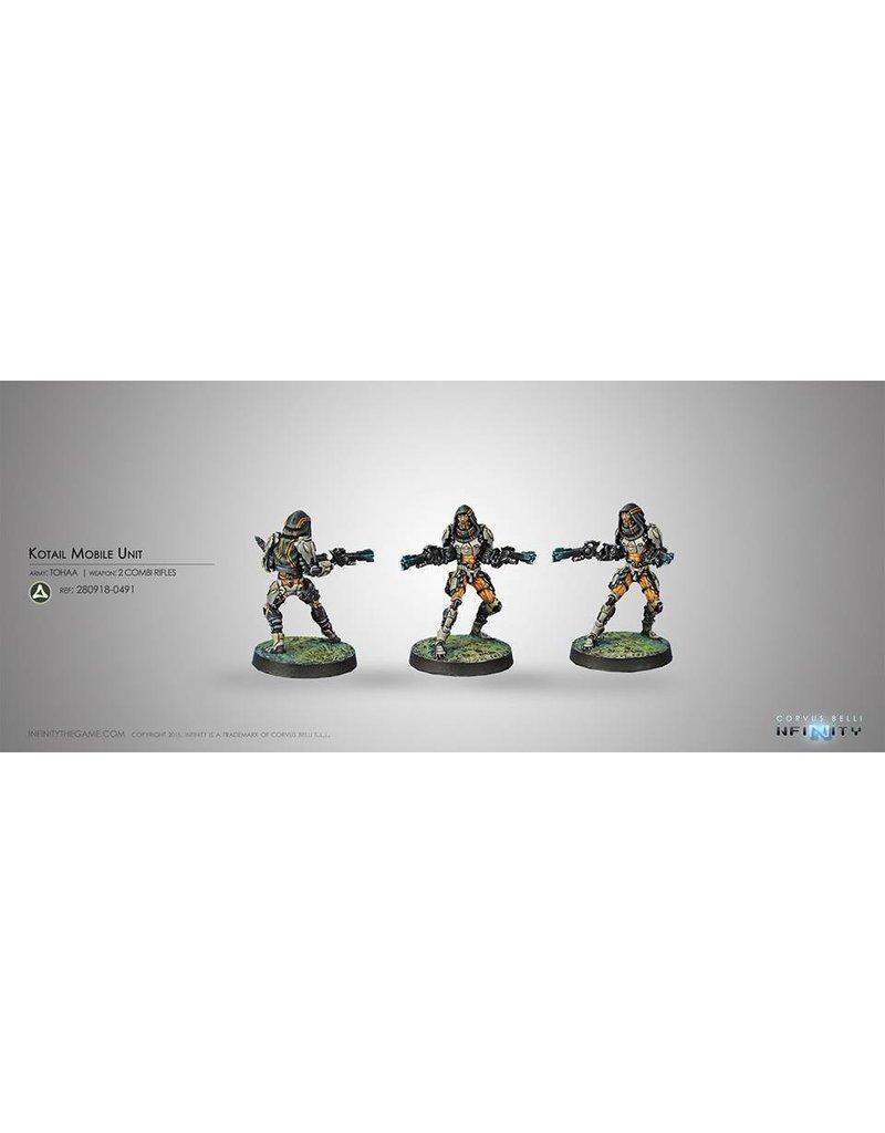 Corvus Belli Tohaa Kotail Mobile Unit (Combi Rifle x2) Blister Pack