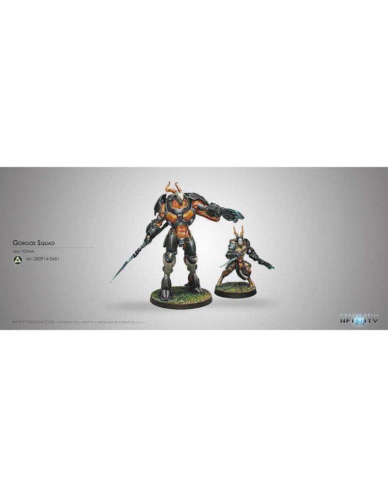 Corvus Belli Tohaa Gorgos Squad Box Set