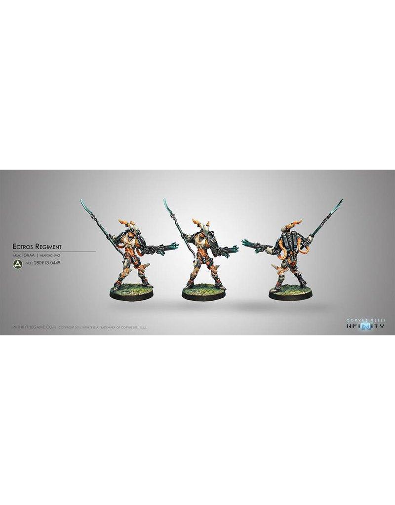 Corvus Belli Tohaa Ectros Regiment (HMG) Blister Pack