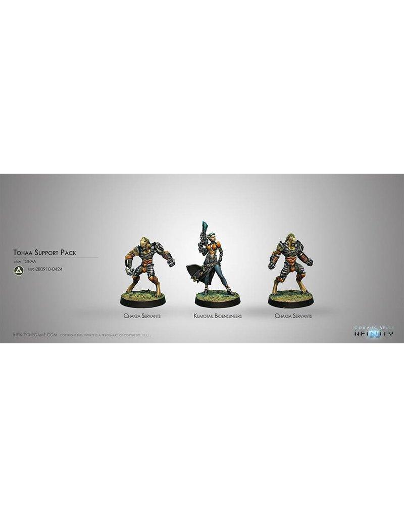 Corvus Belli Tohaa Support Pack Box Set