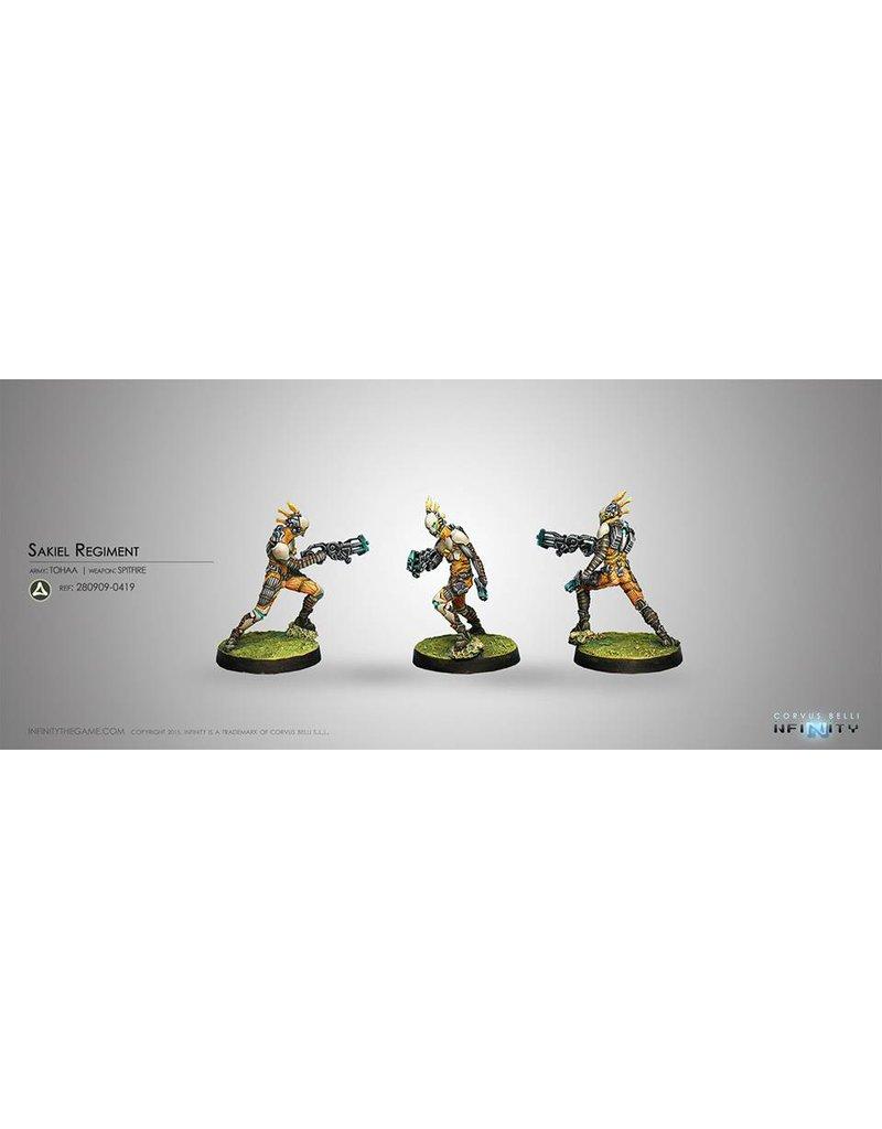 Corvus Belli Tohaa Sakiel Regiment (Spitfire) Blister Pack