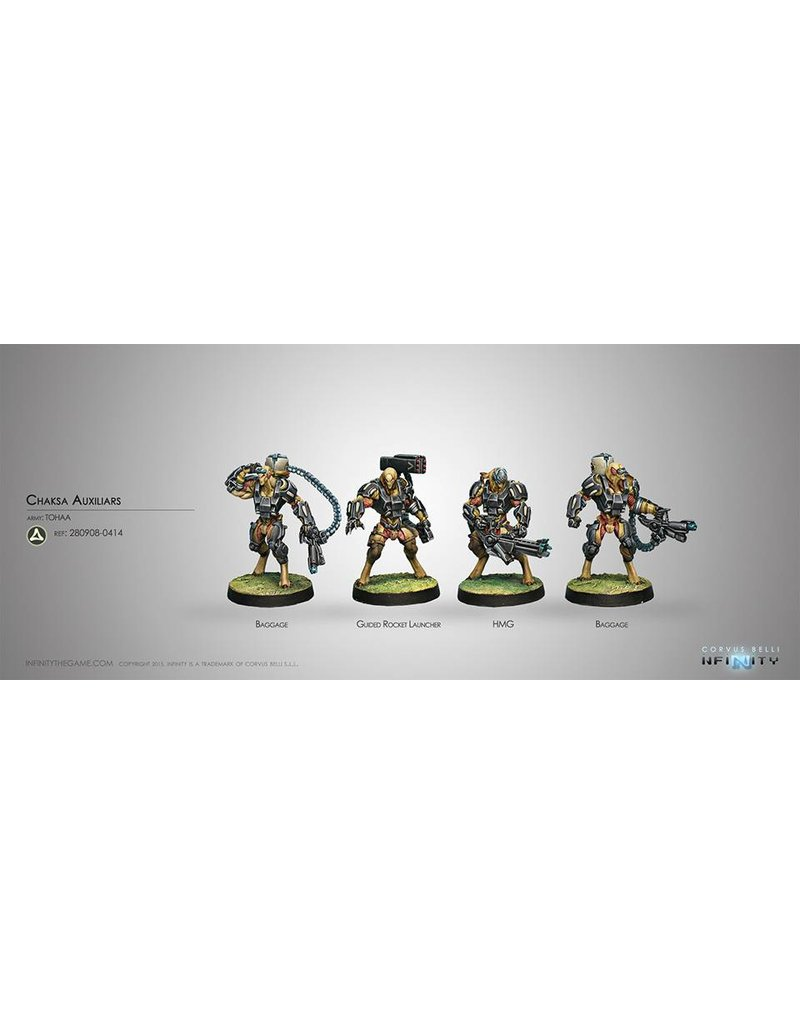 Corvus Belli Tohaa Chaksa Auxiliaries Box Set