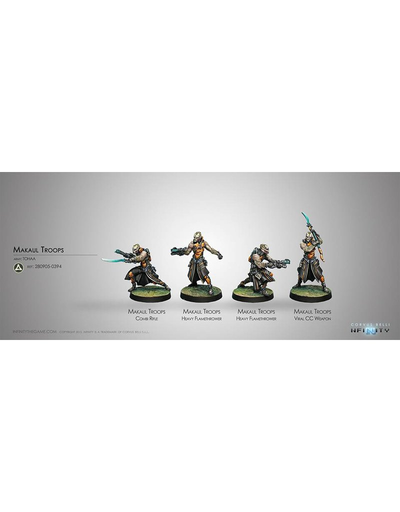 Corvus Belli Tohaa Makaul Troops Box Set