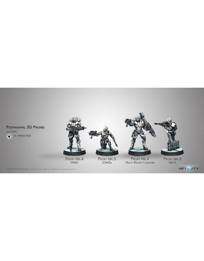 Corvus Belli Aleph Posthumans, 2G Proxies Box Set