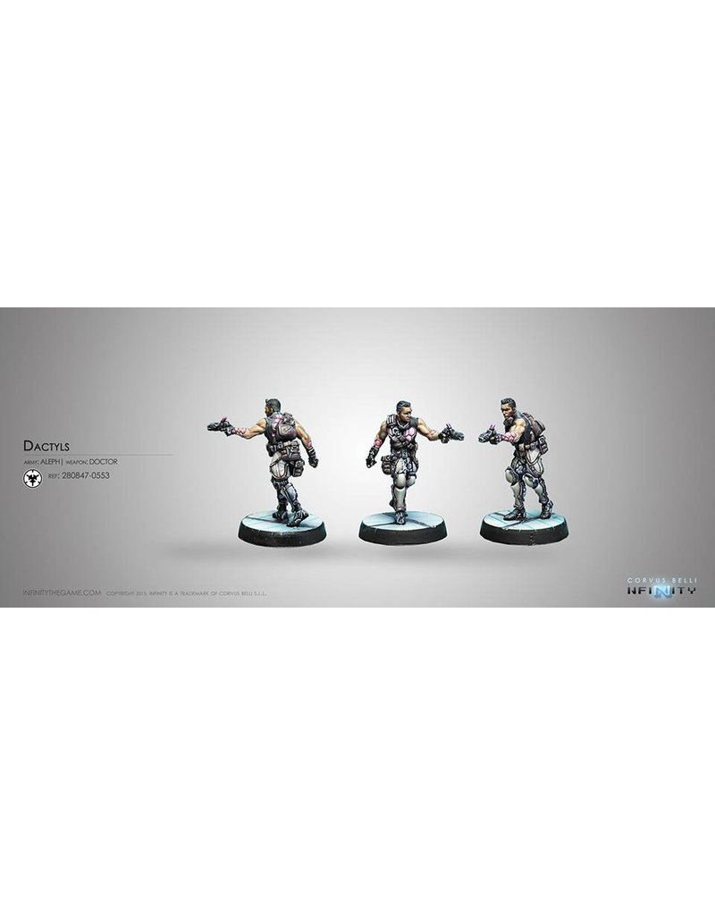 Corvus Belli Aleph Dactyls, Steel Phalanx Support Corps (Doctor) Blister Pack