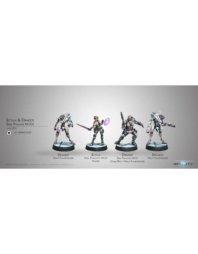 Corvus Belli Aleph Drakios & Scylla, Steel Phalanx's NCO Box Set