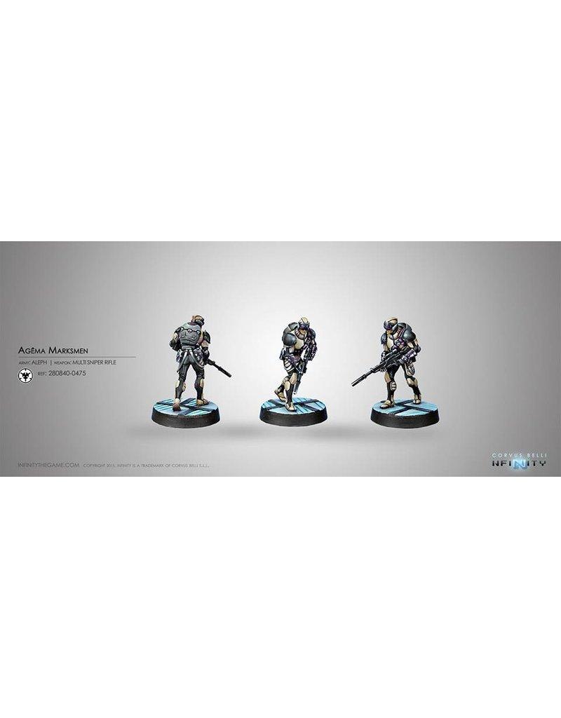 Corvus Belli Agêma Marksmen (Multi Sniper)